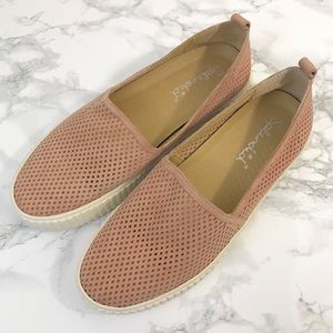 Splendid Bennet Perforated Platform Slip-On Shoes